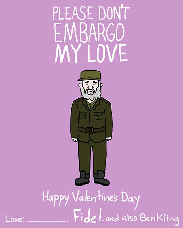 embargo valentine